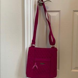 Vera Bradley Crossbody Pink handbag, NWOT